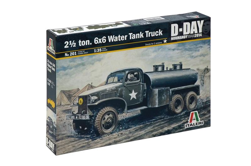 2 ½ Ton, 6x6 Water Tank Truck