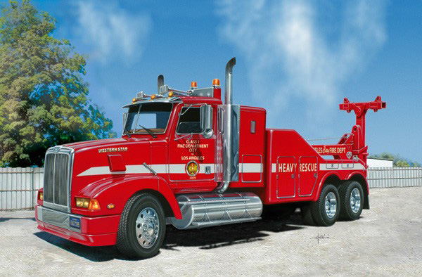 L.A. Fire Dept. Recovery truck