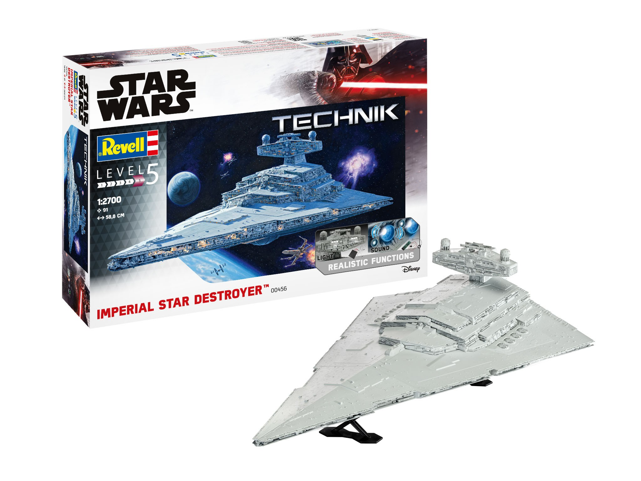 Imperial Star Destroyer - Technik