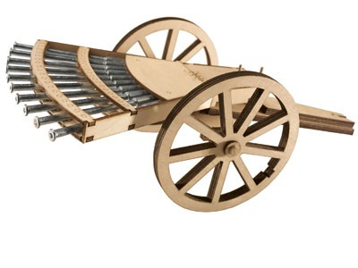 MULTIPLE BARREL GUN