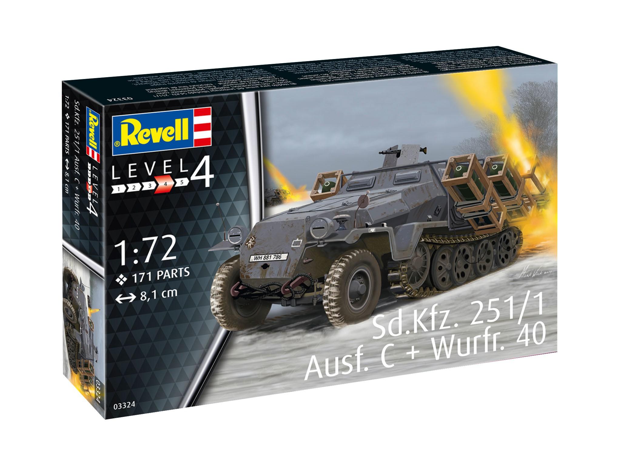 Sd.Kfz. 251/1 Ausf. C + Wurframen 40