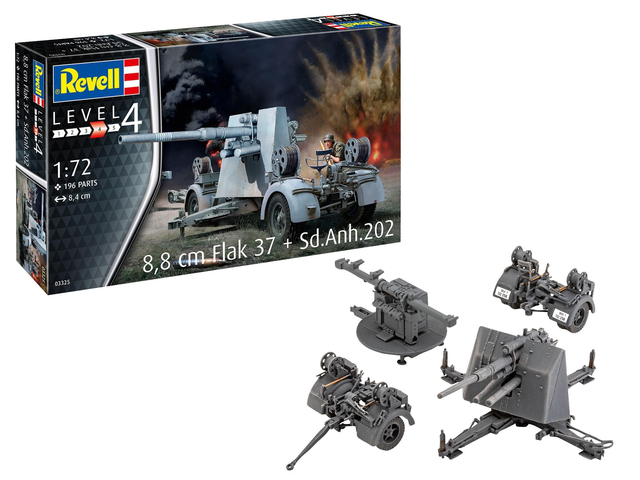 8,8cm Flak 37 + Sd.Anh.202