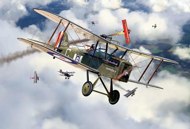 British S.E. 5a RAF - 100 Years RAF