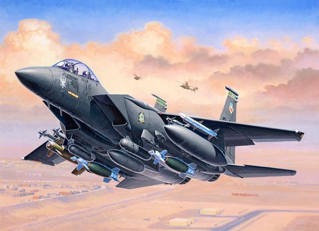 F-15E STRIKE EAGLE AND BOMBS