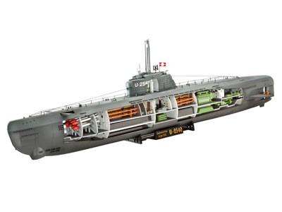 U-Boot Typ XXI U 2540 en Interieur