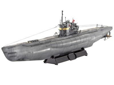 "German Submarine TYPE VII C/41 ""Atlantic Version"""