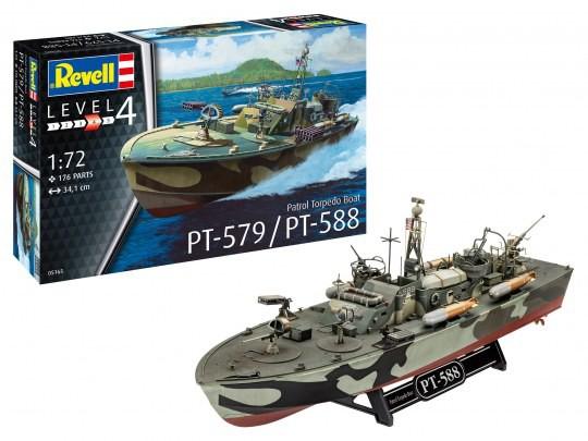 Patrol Torpedo Boat PT-588/PT-579