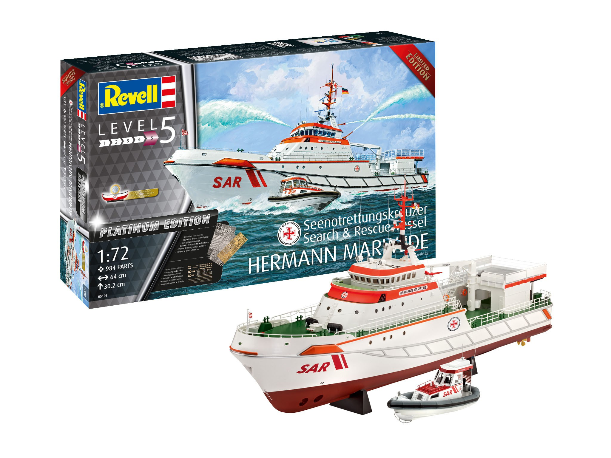 Search and Rescue Vessel Hermann Marwede Platinum Edition