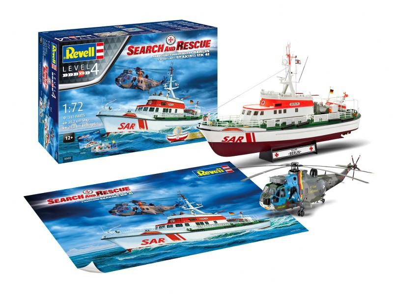 Geschenkset SAR-Berlin + Westland Sea Lynx