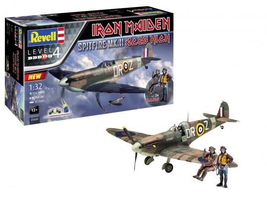 Geschenkset Spitfire Mk.II Aces High Iron Maiden