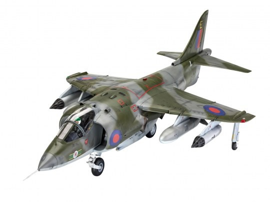 Geschenkset Hawke Harrier GR Mk.1 50 Years