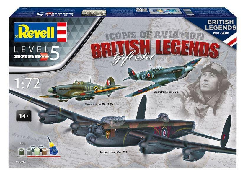 Geschenkset British Legends 1918-2018