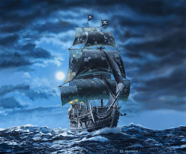 Black Pearl Pirates of the Caribbean - Limited Edition