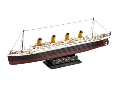 Geschenkset R.M.S. Titanic(1:700 en 1:1200)