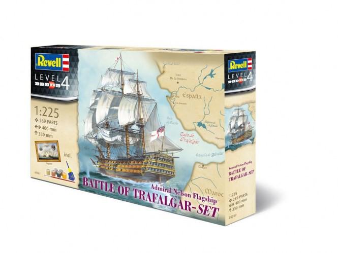 Geschenkset Admiral Nelson Flagship Battle of Trafalgar