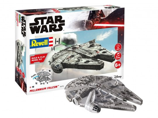 Millennium Falcon - Build and Play