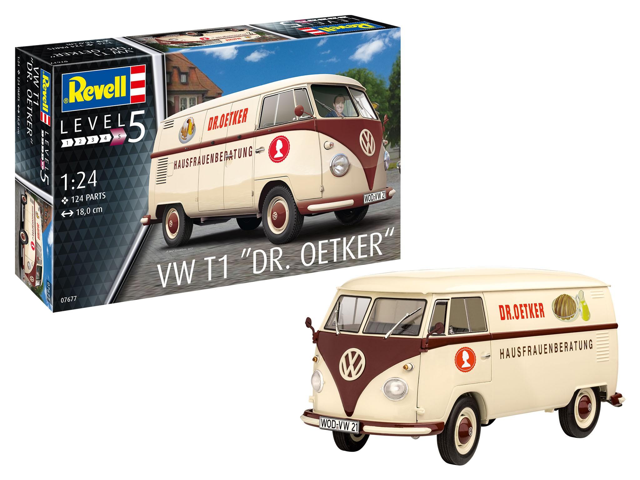 Volkswagen T1 Delivery Van Dr. Oetker