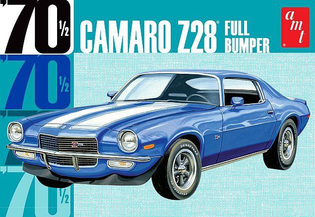 AMT Chevrolet Camaro Z28 Full Bumper 1970