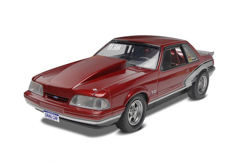 Ford Mustang LX 5.0 Drag Race 1990