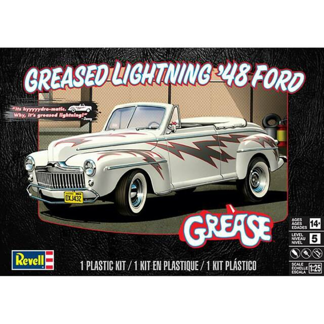 Grease Lightning Ford Convertible 1948