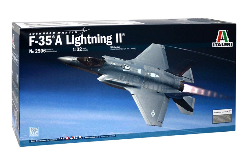 Italeri F-35A Lightning II Lockheed Martin
