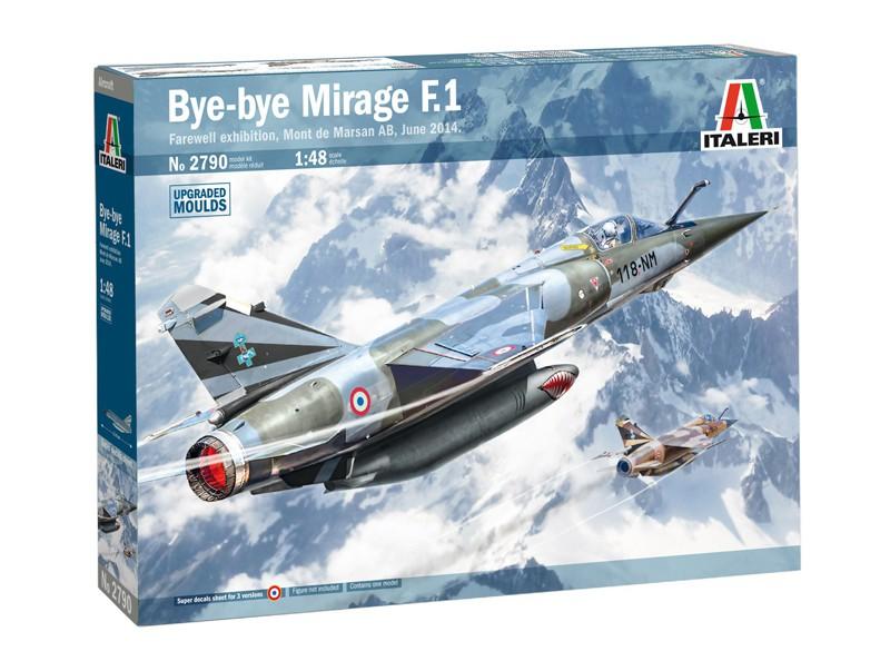 Italeri Mirage F1 CT/CR