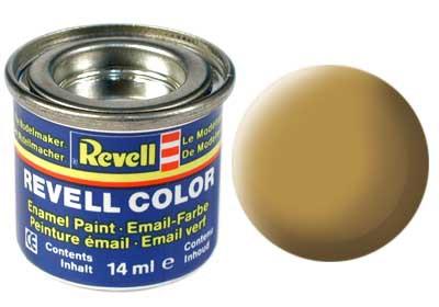 zandkleur, mat kleurnummer 16