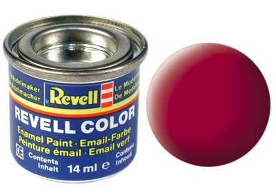 karmijnrood, mat kleurnummer 36