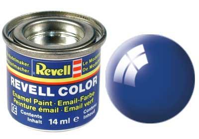 blauw, glanzend kleurnummer 52
