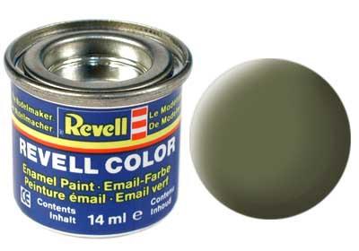 donkergroen, mat RAF kleurnummer 68