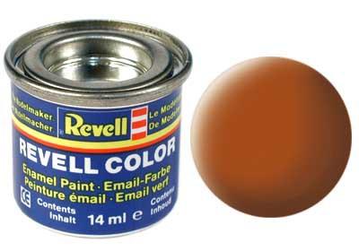 bruin, mat kleurnummer 85