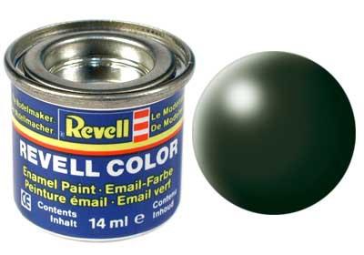 donkergroen, zijdemat kleurnummer 363