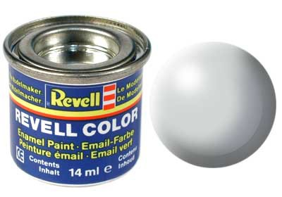 licht-grijs, zijdemat kleurnummer 371