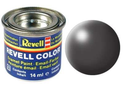 donker-grijs, zijdemat kleurnummer 378