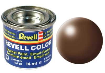 bruin, zijdemat kleurnummer 381