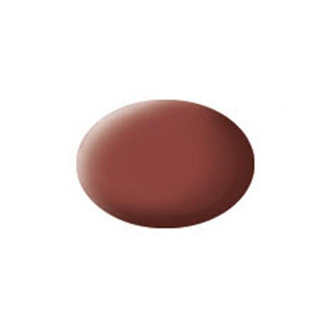 Aqua dakpan-rood, mat kleurnummer 37