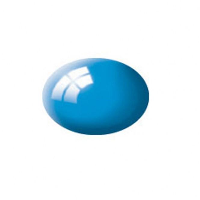 Aqua lichtblauw, glanzend kleurnummer 50