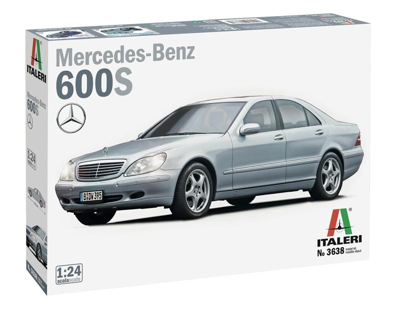 Italeri Mercedes-Benz 600 S