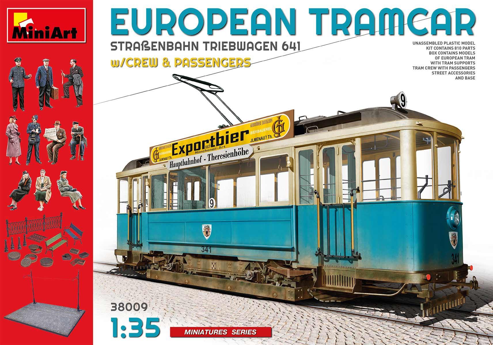 MiniArt European Tramcar Strassenbahn