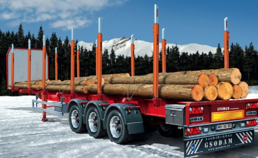 Italeri Timber Trailer