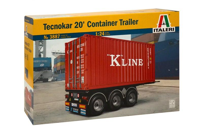 Italeri Container Trailer 20ft