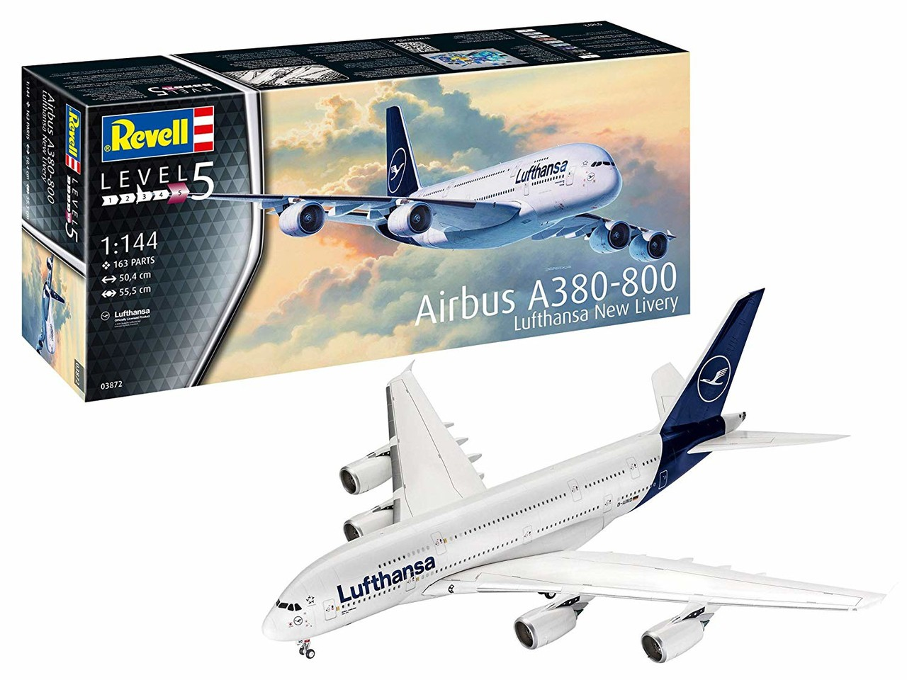 Airbus A380-800 Lufthansa New Liverya New Livery