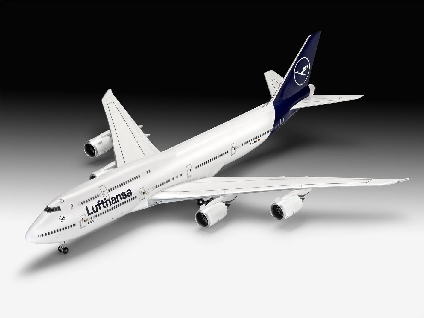 Boeing 747-8 Lufthansa - New Livery