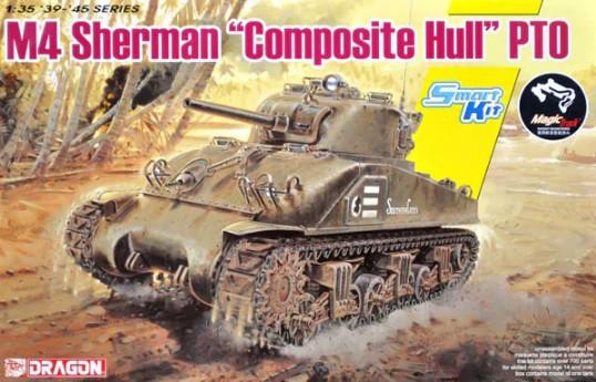 Dragon M4 Sherman Composite Hull PTO