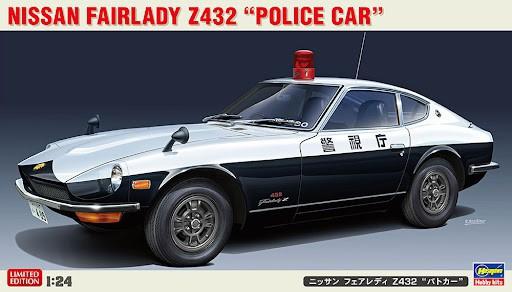 Hasegawa Nissan Fairlady Z432 Polizei