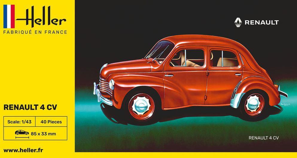 Heller Renault 4CV
