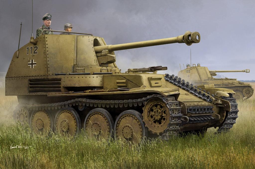 Hobby Boss Marder III Ausf.M Tank Destroyer Sd.Kfz.138