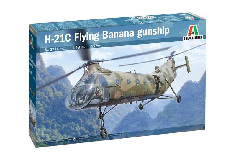 Italeri H-21C Flying Banana Gunship