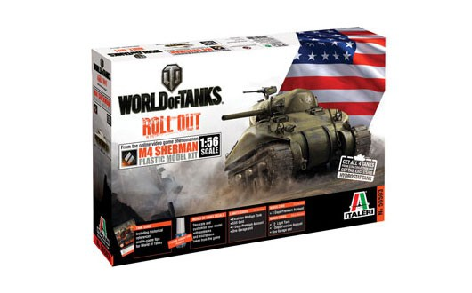 Italeri M4 Sherman - World of Tanks