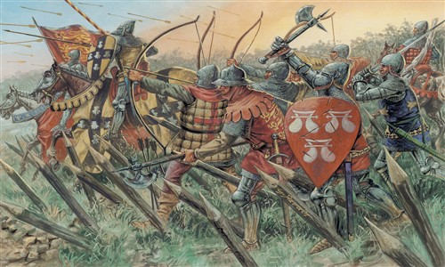 Italeri English Knights and Archers